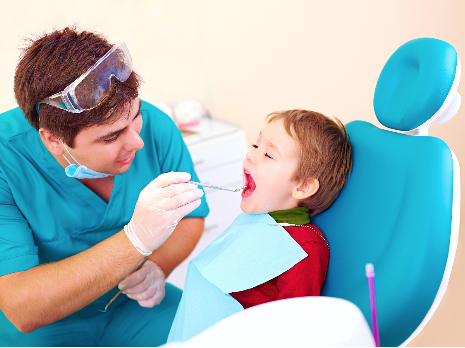child dental appointment
