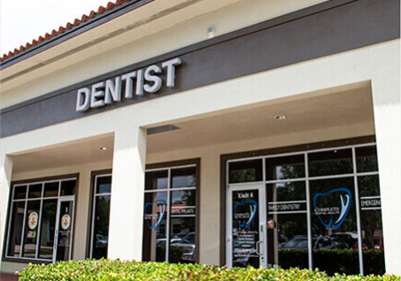 Dental Office in Coral Springs - Outside